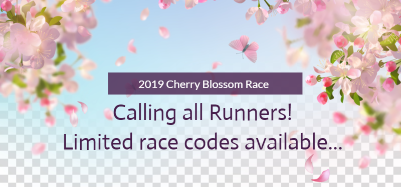 Cherry Blossom Race - Call for Runners 2